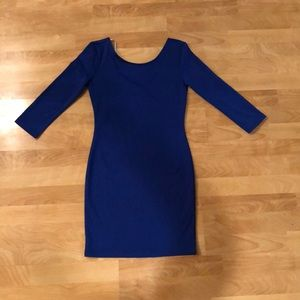 Colbalt Blue Bodycon